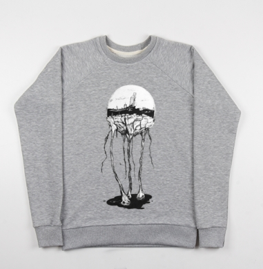 Город под куполом - Купить детские свитшоты с горами в Москве, цена детских свитшотов с горами с прикольными принтами - магазин дизайнерской одежды MaryJane