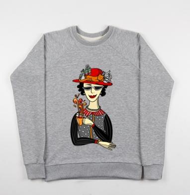 Горячий чай - Купить детские свитшоты модные в Москве, цена детских свитшотов модных  с прикольными принтами - магазин дизайнерской одежды MaryJane