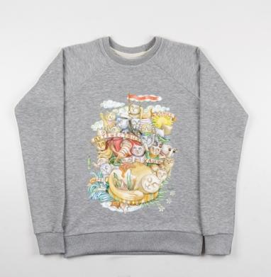 Игры в жизнь - Купить детские свитшоты с солнцем в Москве, цена детских свитшотов с солнцем с прикольными принтами - магазин дизайнерской одежды MaryJane