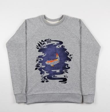 Карп - Купить детские свитшоты с символами в Москве, цена детских свитшотов с символом с прикольными принтами - магазин дизайнерской одежды MaryJane