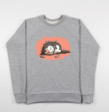 Кот-обормот - Купить детские свитшоты с кошками в Москве, цена детских свитшотов с кошками  с прикольными принтами - магазин дизайнерской одежды MaryJane