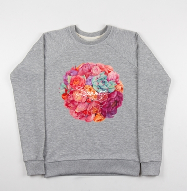 Летнее настроение - Купить детские свитшоты с роами в Москве, цена детских свитшотов с розой с прикольными принтами - магазин дизайнерской одежды MaryJane