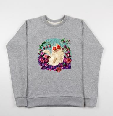 Мартовский Мур - Купить детские свитшоты с роами в Москве, цена детских свитшотов с розой с прикольными принтами - магазин дизайнерской одежды MaryJane