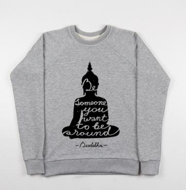 Мудрость Будды - Купить детские свитшоты с цитатами в Москве, цена детских свитшотов с цитатами  с прикольными принтами - магазин дизайнерской одежды MaryJane