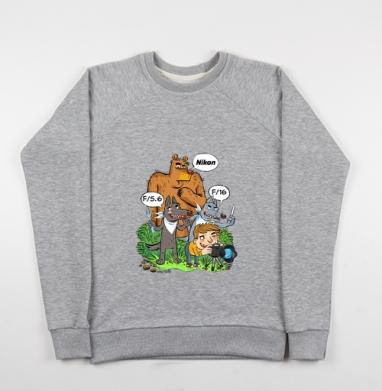 PIC NIK - Купить детские свитшоты с волками в Москве, цена детских свитшотов с волками  с прикольными принтами - магазин дизайнерской одежды MaryJane