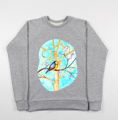 Птиц-Синиц - Купить детские свитшоты музыка в Москве, цена детских свитшотов музыкальных  с прикольными принтами - магазин дизайнерской одежды MaryJane