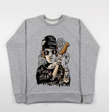 Rock Man - Купить детские свитшоты музыка в Москве, цена детских свитшотов музыкальных  с прикольными принтами - магазин дизайнерской одежды MaryJane