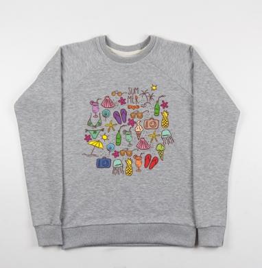 Санни дейс - Купить детские свитшоты с солнцем в Москве, цена детских свитшотов с солнцем с прикольными принтами - магазин дизайнерской одежды MaryJane