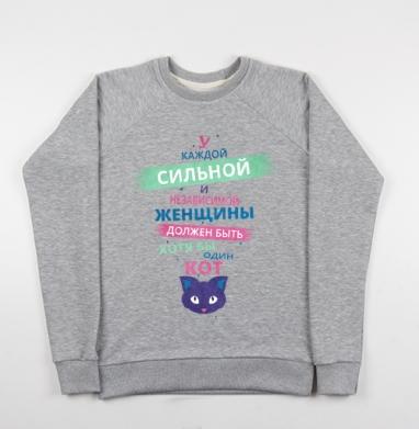 Сильная и независимая - Купить детские свитшоты красивые в Москве, цена детских свитшотов красивых  с прикольными принтами - магазин дизайнерской одежды MaryJane