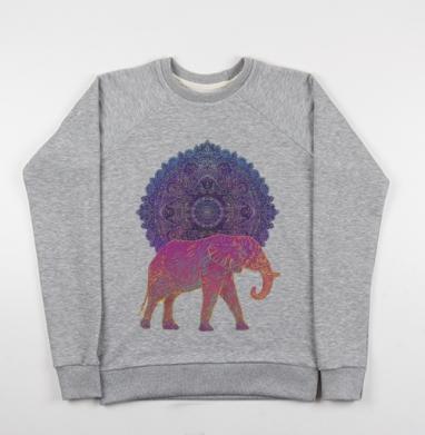 Слон и солнце - Купить детские свитшоты с солнцем в Москве, цена детских свитшотов с солнцем с прикольными принтами - магазин дизайнерской одежды MaryJane