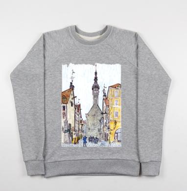 Таллин - Купить детские свитшоты с городами в Москве, цена детских свитшотов с городами  с прикольными принтами - магазин дизайнерской одежды MaryJane