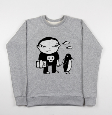 Ад - Купить детские свитшоты с людьми в Москве, цена детских свитшотов с людьми  с прикольными принтами - магазин дизайнерской одежды MaryJane