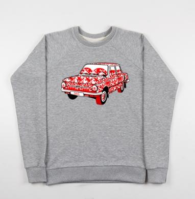 Це автомобiль (Запорожец) - Купить детские свитшоты Россия в Москве, цена детских свитшотов Россия  с прикольными принтами - магазин дизайнерской одежды MaryJane