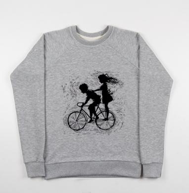 Летнее, велосипедное - Купить детские свитшоты с велосипедом в Москве, цена детских свитшотов с велосипедом с прикольными принтами - магазин дизайнерской одежды MaryJane