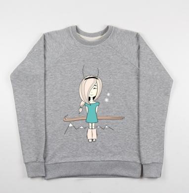 Little surprise - Купить детские свитшоты с горами в Москве, цена детских свитшотов с горами с прикольными принтами - магазин дизайнерской одежды MaryJane