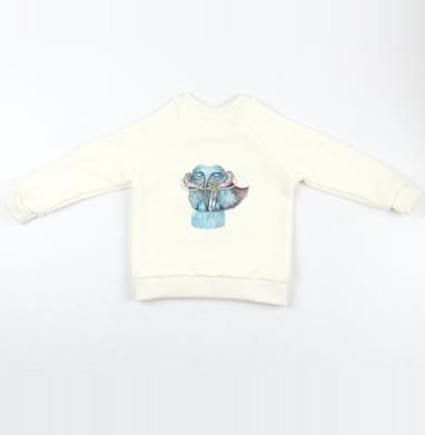 Снежный мамонт - Cвитшот Детский Экрю 320гр, стандарт, Популярные