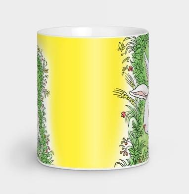 Солнечный кролик - Кружки с логотипом