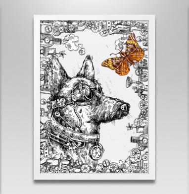 Пес-путешественник во времени - Постеры, собаки, Популярные
