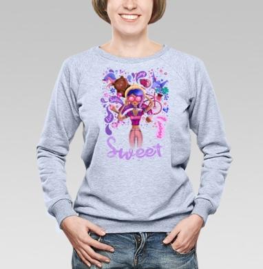 Сладкий - Купить детские свитшоты милые в Москве, цена детских свитшотов милых  с прикольными принтами - магазин дизайнерской одежды MaryJane