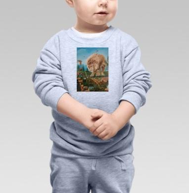 Зависла в фотошопе - Купить детские свитшоты с природой в Москве, цена детских свитшотов с природой  с прикольными принтами - магазин дизайнерской одежды MaryJane