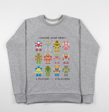 МОЙ ГЕРОЙ - Купить мужские свитшоты ретро в Москве, цена мужских свитшотов ретро  с прикольными принтами - магазин дизайнерской одежды MaryJane