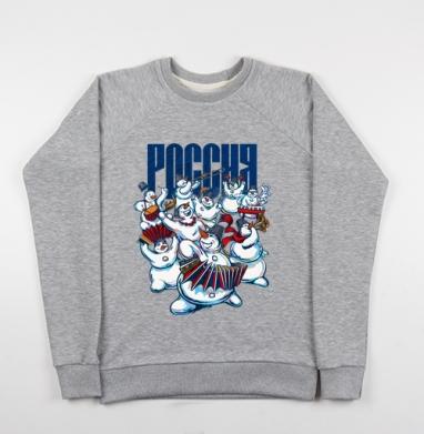 Россия - Купить мужские свитшоты Россия в Москве, цена мужских свитшотов Россия  с прикольными принтами - магазин дизайнерской одежды MaryJane