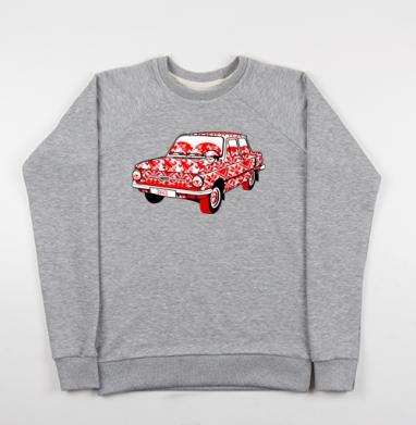 Це автомобiль (Запорожец) - Купить мужские свитшоты Россия в Москве, цена мужских свитшотов Россия  с прикольными принтами - магазин дизайнерской одежды MaryJane