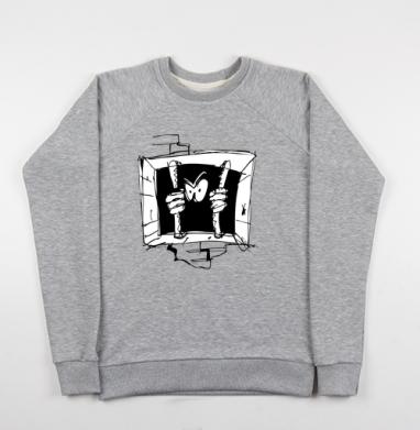 Soul - Купить мужские свитшоты свобода в Москве, цена мужских свитшотов свобода  с прикольными принтами - магазин дизайнерской одежды MaryJane