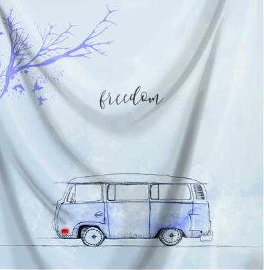 Синий автобус - Череп