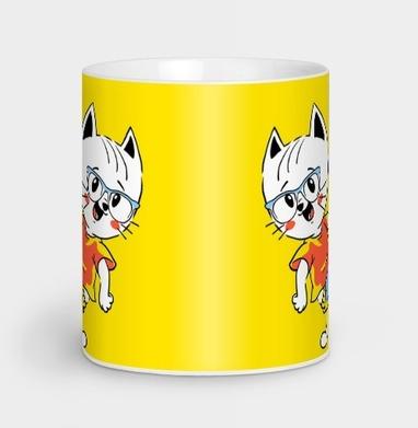 Джэт Кэт - Кружки с логотипом