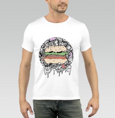 Дудл - Купить мужские футболки с едой в Москве, цена мужских футболок с едой  с прикольными принтами - магазин дизайнерской одежды MaryJane