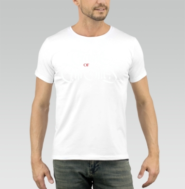 Game of Thrones - Купить мужские футболки с играми в Москве, цена мужских футболок с играми  с прикольными принтами - магазин дизайнерской одежды MaryJane