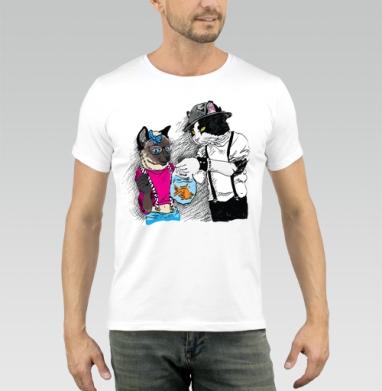 Подарок для подружки - Купить мужские футболки с китами в Москве, цена мужских футболок с китом с прикольными принтами - магазин дизайнерской одежды MaryJane