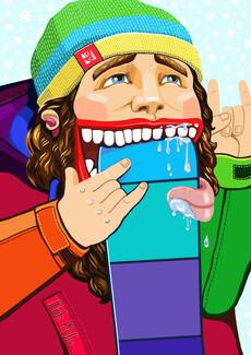 Люблю Сноубординг - скейтборд - Коллекции