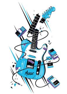 Гитара  - взрыв - Коллекции