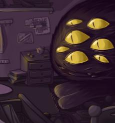 - Монстер в комнате