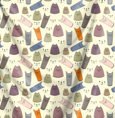 Веселый котопринт - кошка, Популярные