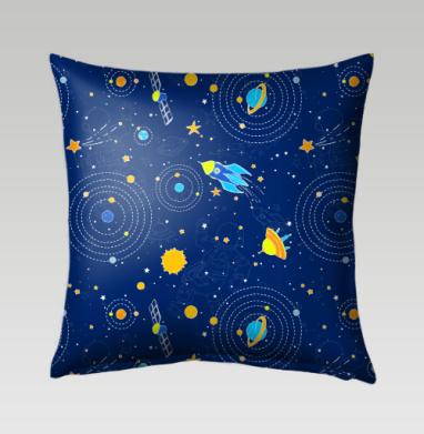 Сигналы из космоса - Подушки с принтом