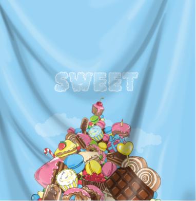 Гора сладостей до неба - сладости, Популярные
