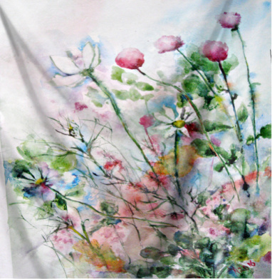 Осенние цветы - акварель, Популярные