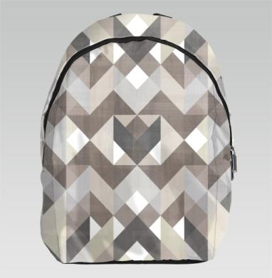 Симметрия в коричневых тонах - Рюкзак