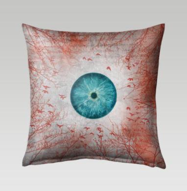 Воспаленное око планеты - Подушки с принтом