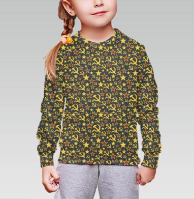 Назад в будущее., Cвитшот детский без капюшона (полная запечатка)