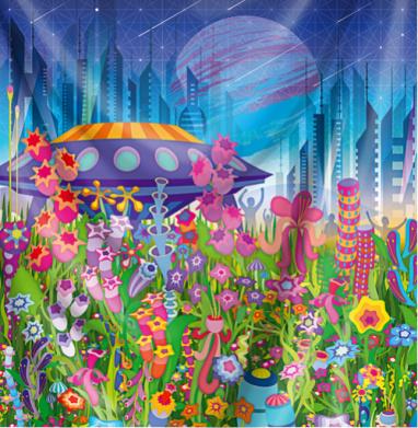 Тайна пятой планеты - психоделика, Популярные
