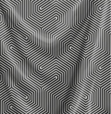 Иллюзия пространства - узор, Популярные