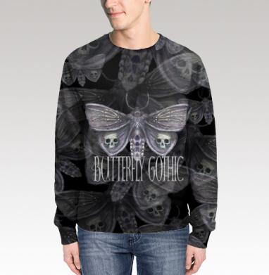 Бабочка готика, Свитшот мужской 3D