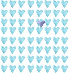Голубое сердце - король - Коллекции
