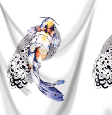 Рыбка кои - рыба, Популярные