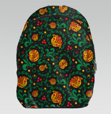 Вышивка хохлома - Рюкзак