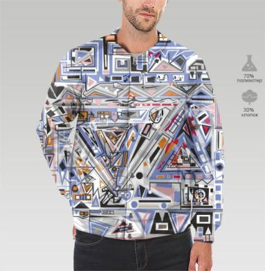 Бомбер мужской 3D - Ташизм